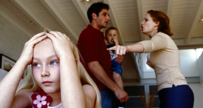 Main causes of family problems
